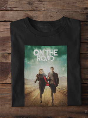 Quirky On The Road Printed T-shirt