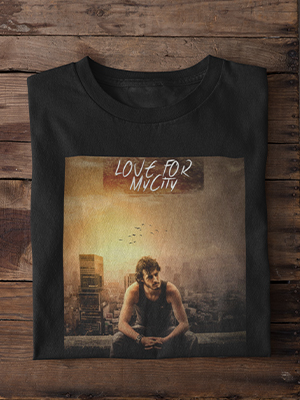 Quirky Love For MyCity Printed T-shirt